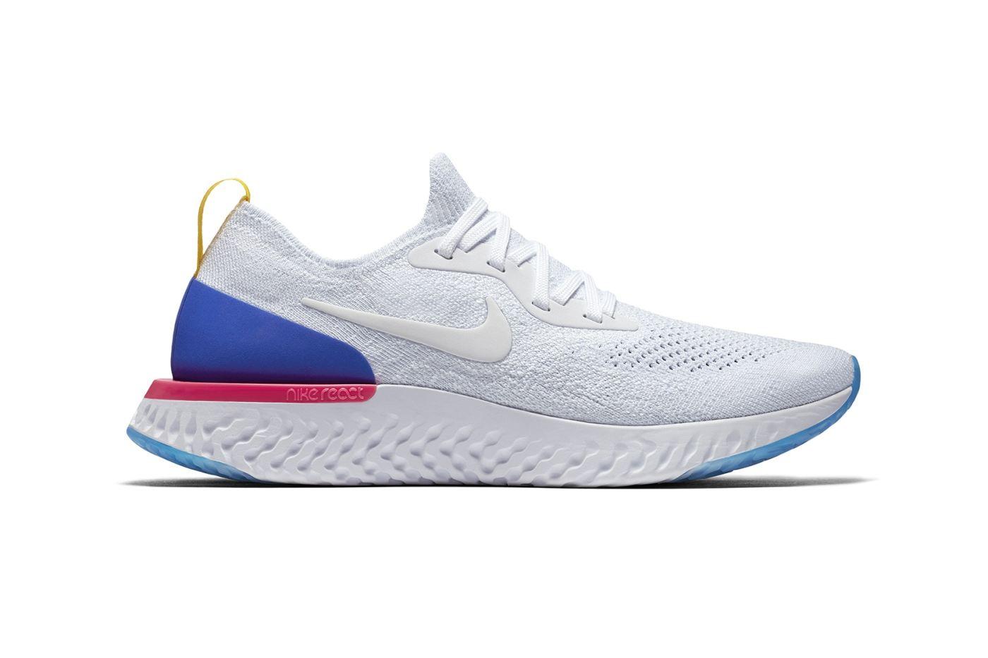 9802e44f1b4 Tênis de corrida novo na área  Nike Epic React Flyknit –  correpaula